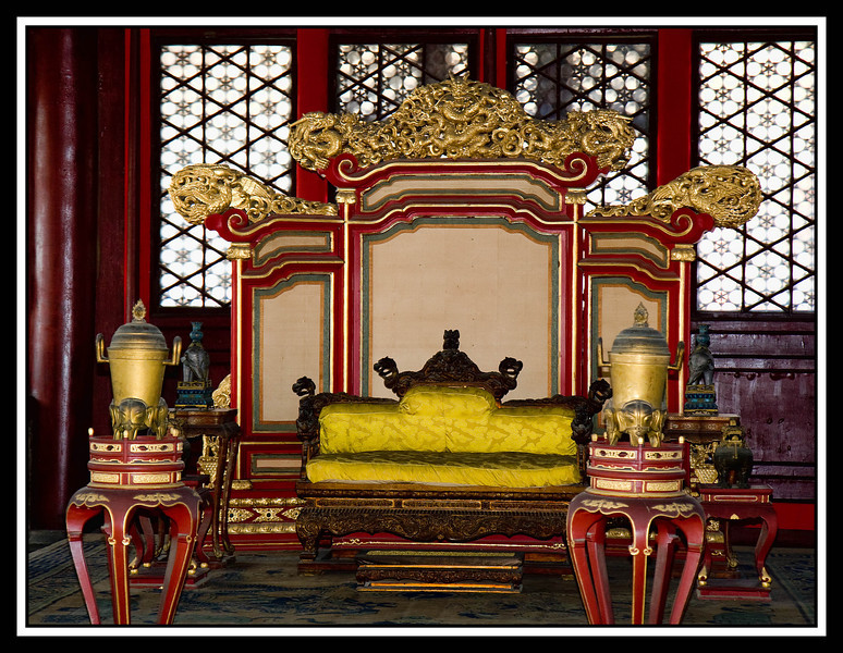 IMAGE: http://rpcrowe.smugmug.com/Other/CHINA-FOCUS-TOUR-2101-BEIJING/D-611-Forbidden-City-throne/869277422_h47Xo-L.jpg