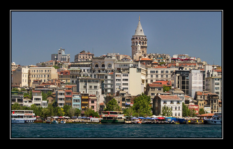 Views of and from Galata Tower - image heavy