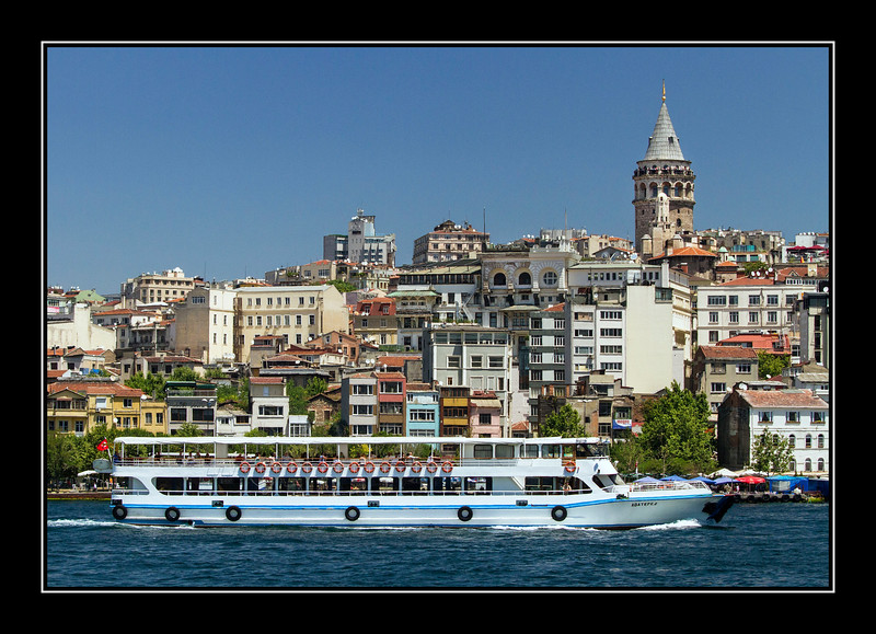 IMAGE: http://rpcrowe.smugmug.com/Other/Istanbul/i-wmcKQPr/0/L/Tourboat%20on%20Golden%20Horn%20with%20Galata%20Tower%20in%20background-L.jpg
