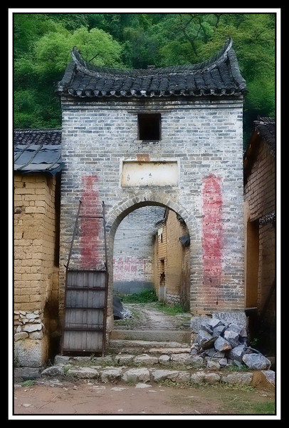 IMAGE: http://rpcrowe.smugmug.com/Other/Yangshuo-a/044-gate-to-courtyard-old-town/858910816_WQ6jt-L.jpg