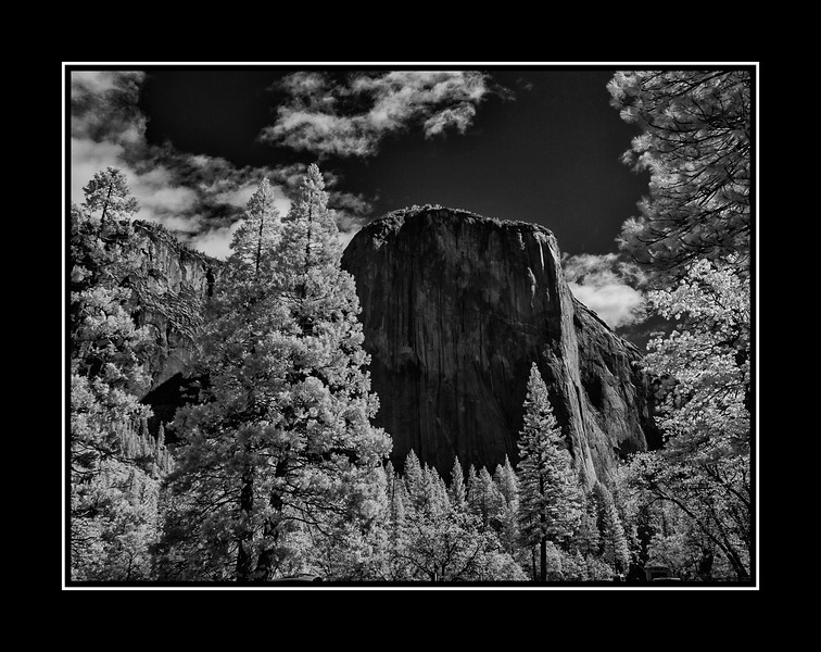 Yosemite Half Dome in IR