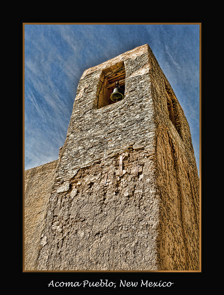 Bell Tower, Acoma Pueblo, New Mexico, USA
