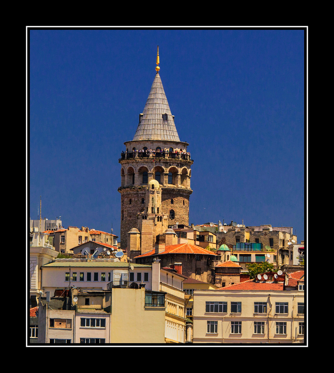 Galata Tower Composite